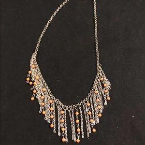 4 For $25⭐️Paparazzi orange statement necklace set